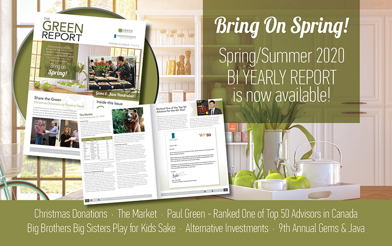 Green Private Wealth Spring Summer Newsletter 2020